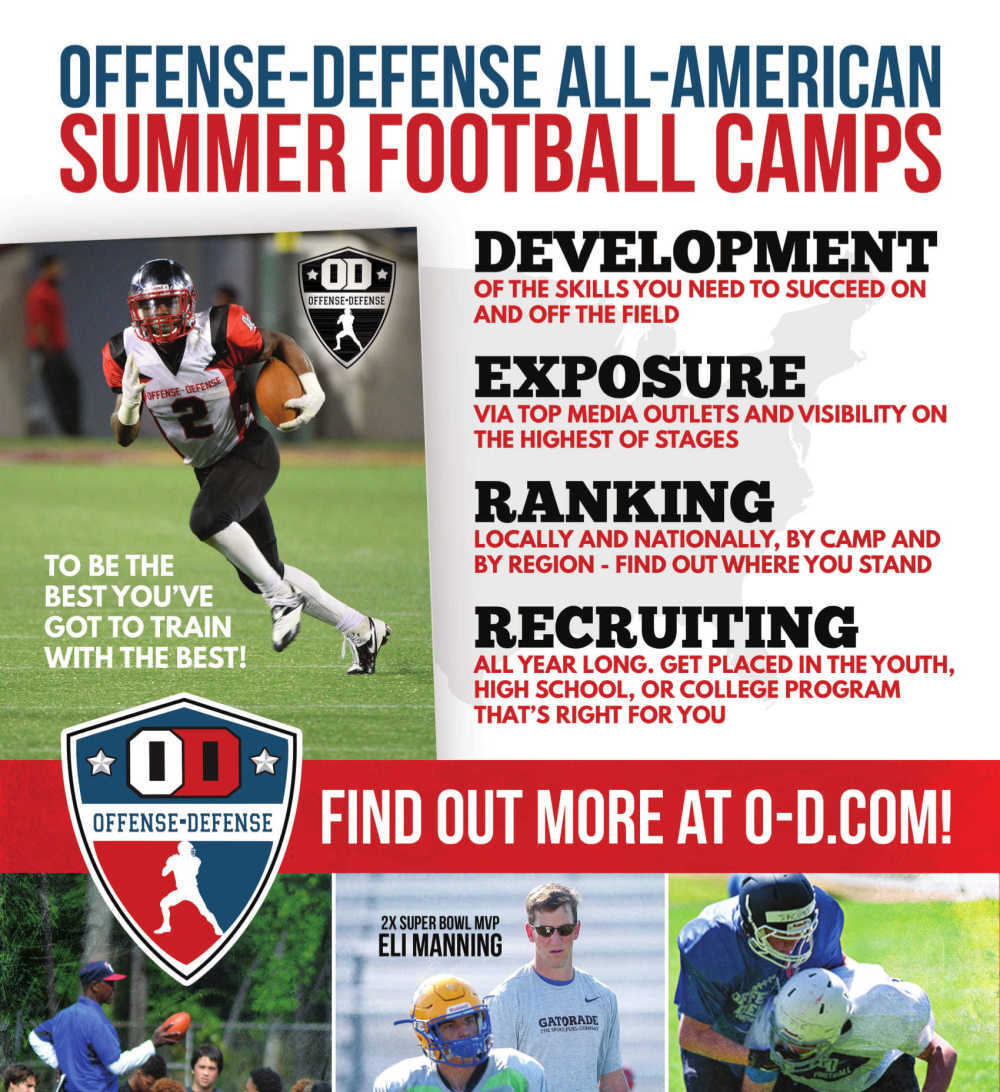 Offense Defense Football Camps