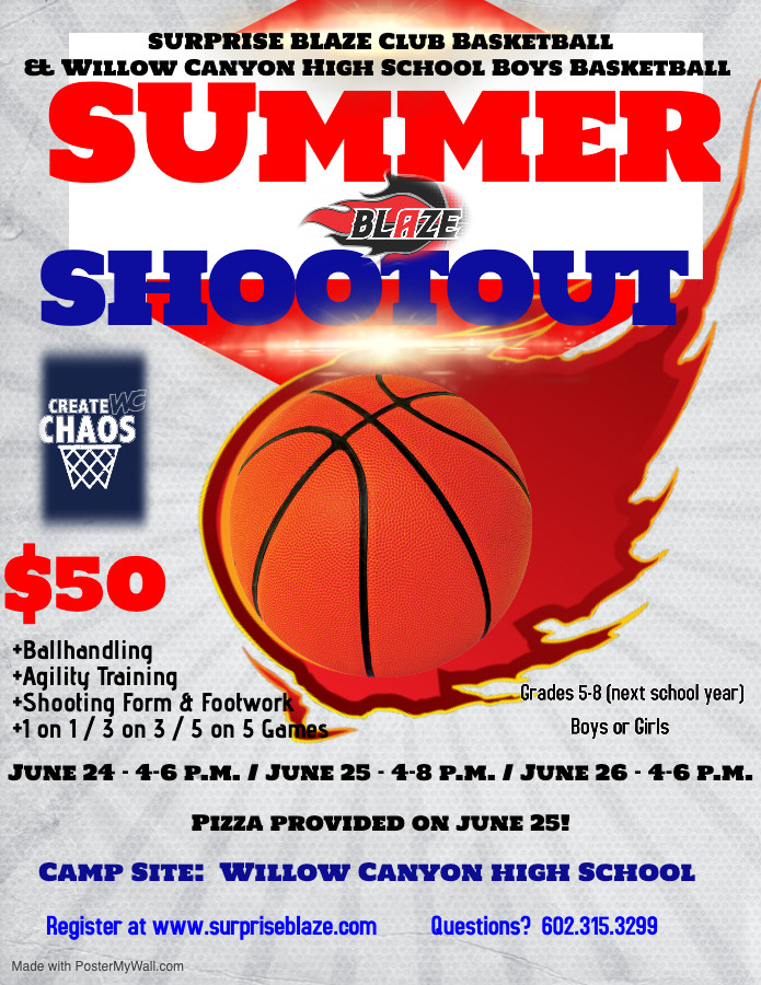 Youth Basketball Camp Surprise AZ