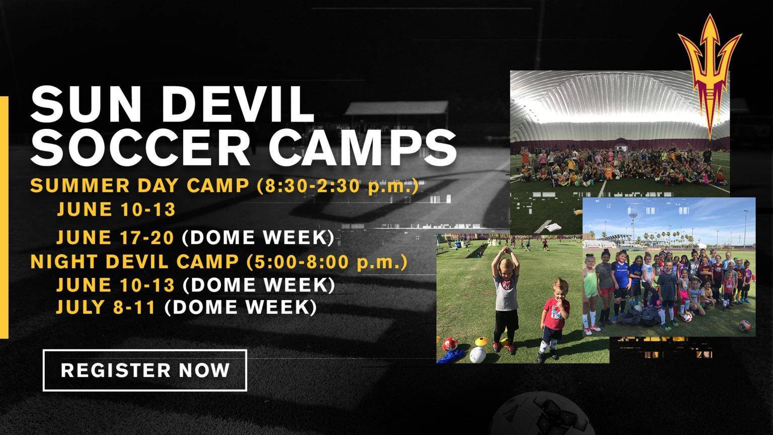 ASU Youth Soccer Camp Tempe AZ