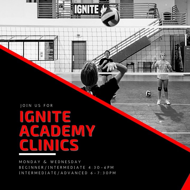 Ignite Volleyball Academy Camps and Clinics Scottsdale AZ