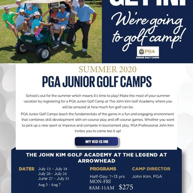 Junior Golf Camp Glendale, AZ